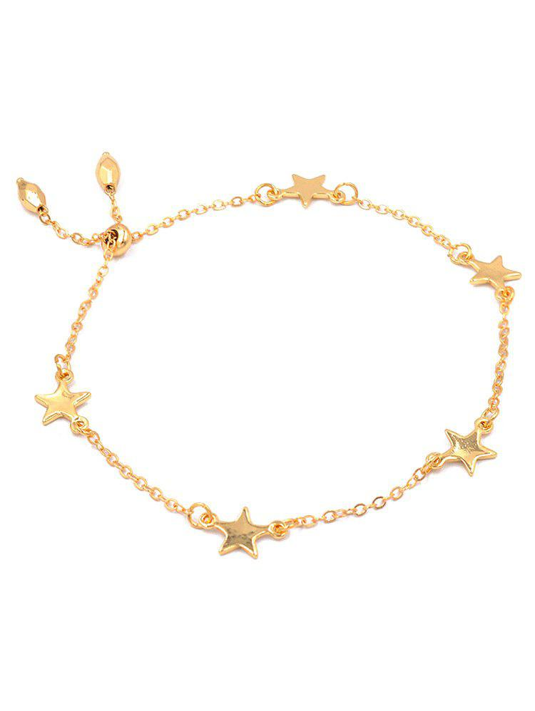 Stylish Alloy Star Chain Bracelet