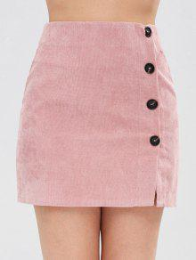 سروال قصير مزين بالزهور - زهري S