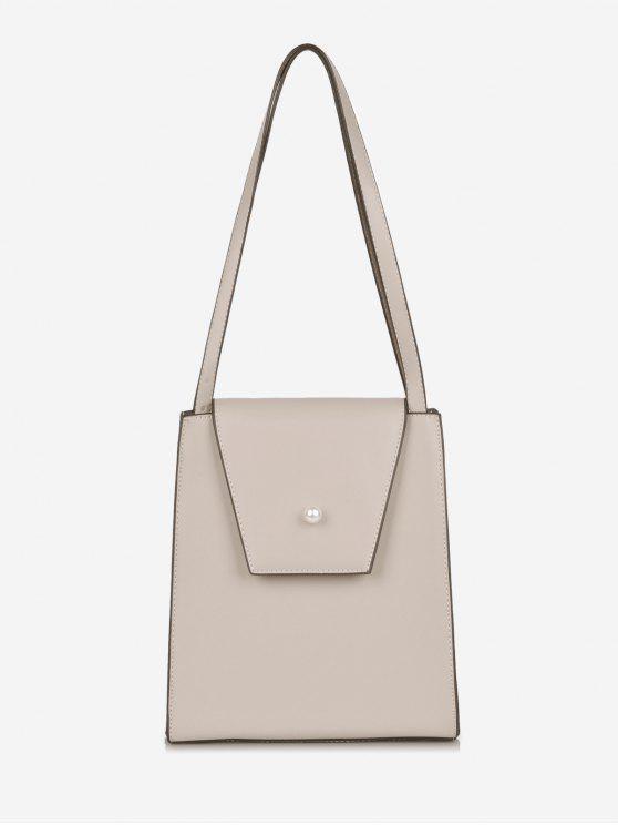 fashion Faux Pearl Minimalist Shoulder Bag - LIGHT PINK