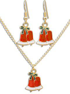 Christmas Bell Alloy Party Jewelry Set - Multi