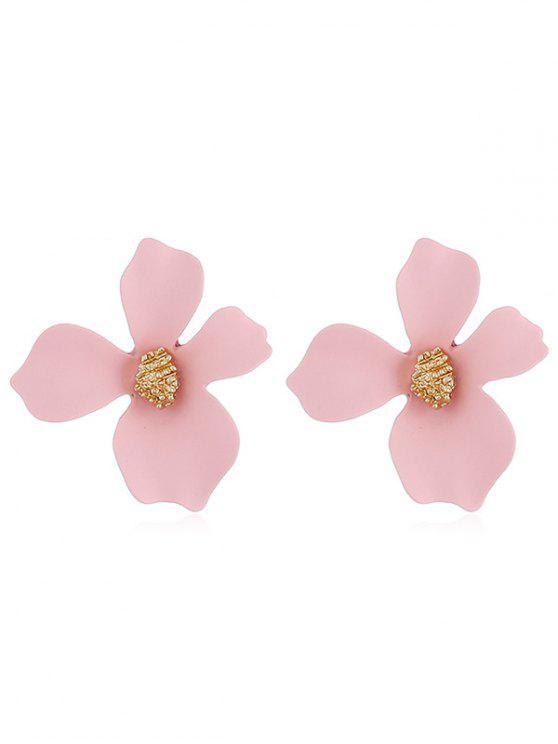 Orecchini A Forma Di Fiore - Rosa