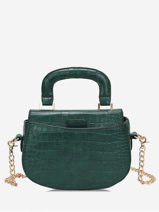 حقيبة كروس صغيرة بمقبض علوي - البحر الاخضر