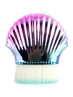 Multifunctional Shell Shaped Flat Top Makeup Brush - Fantastic