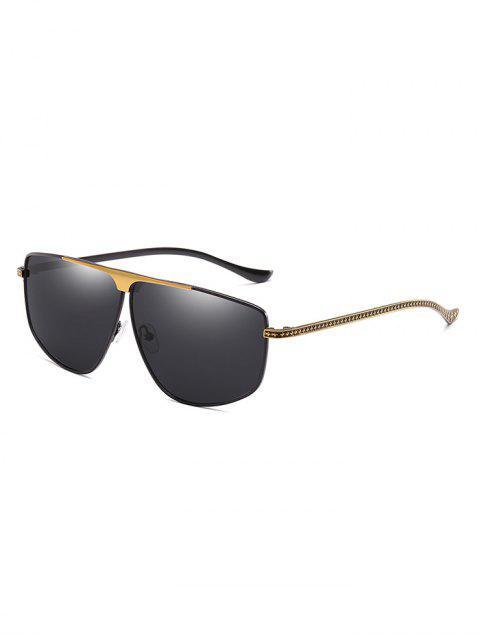 Gafas de sol exclusivas con montura de metal - Negro  Mobile