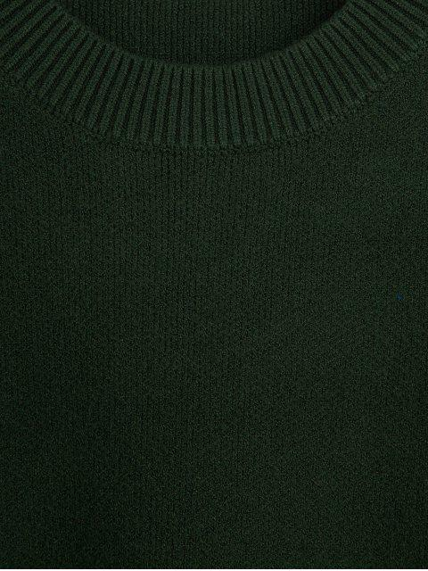 sale Boxy Oversized Sweater - DEEP GREEN ONE SIZE Mobile