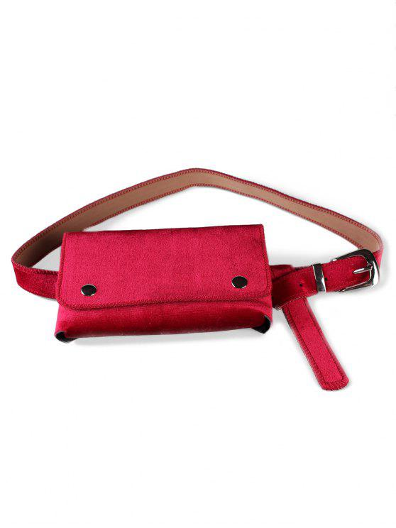 best Fanny Pack Hip Bum Belt Bag - ROSE RED