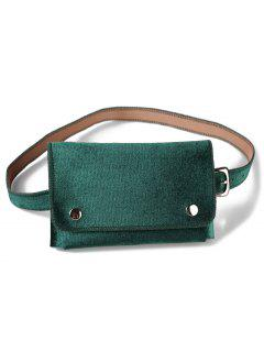 Fanny Pack Hip Bum Belt Bag - Medium Aquamarine