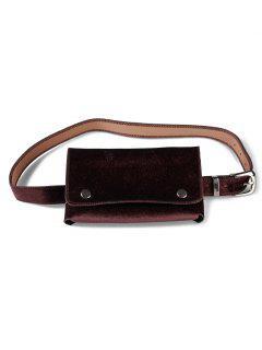 Fanny Pack Hip Bum Belt Bag - Coffee