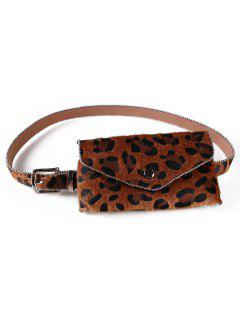 Leopard Printed Fanny Pack Belt Bag - Red Dirt