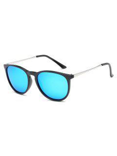 Stylish Oval Lens Driving Sunglasses - Dodger Blue