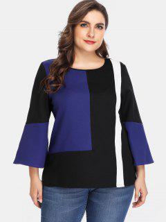 Blusa Blusa Tallas Grandes - Multicolor 4x