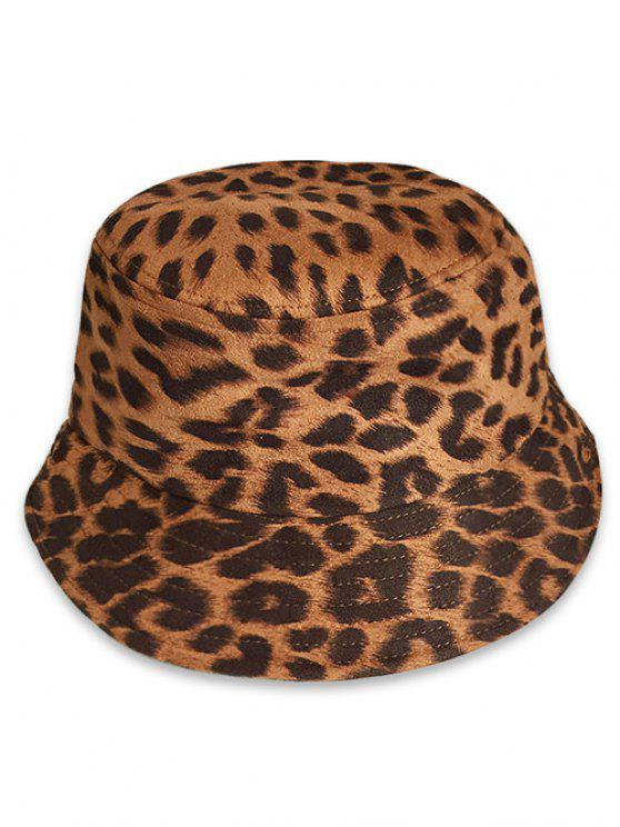 4c73fb15df756 25% OFF  2019 Leopard Animal Print Bucket Hat In LEOPARD