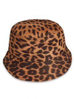 Leopard Print Bucket Hat - Leopard