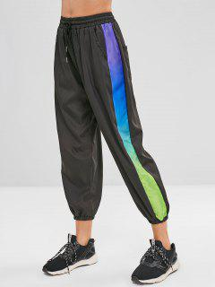Lightweight Joggers Track Pants - Black