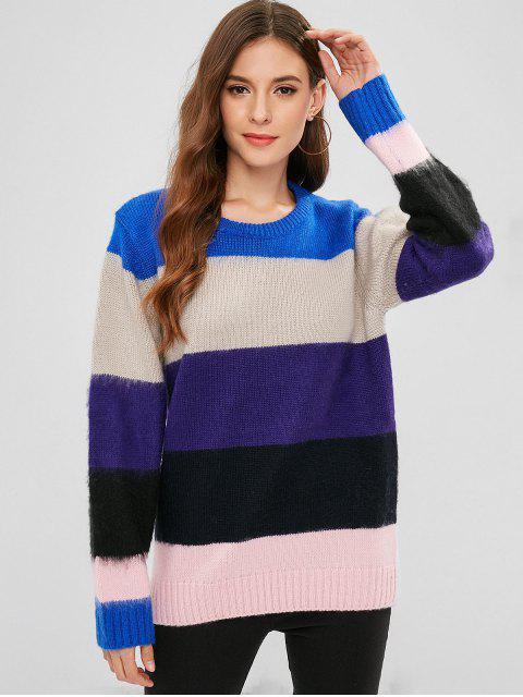 Jersey de túnica color block - Multicolor Talla única Mobile