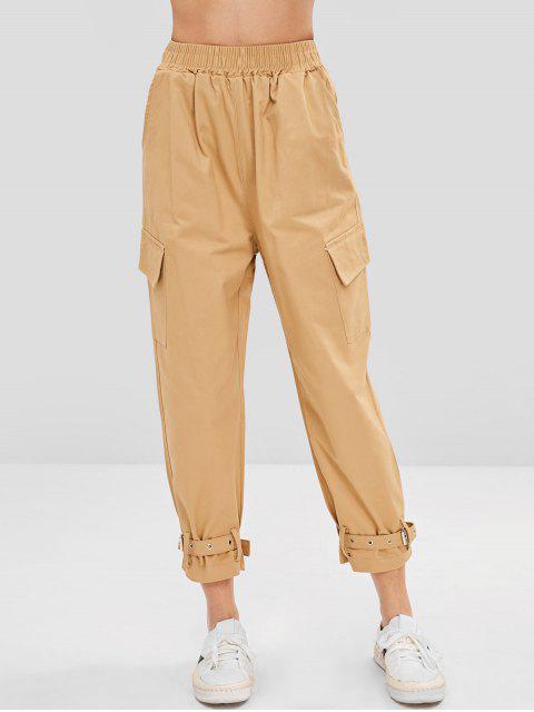Bolsillos laterales pantalones - Caqui Claro XL Mobile