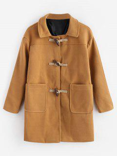 Toggles Classic Duffle Coat - Tiger Orange L