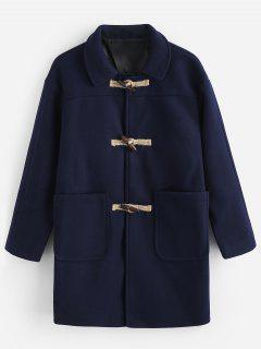 Toggles Classic Duffle Coat - Cadetblue L