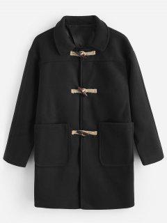 Toggles Classic Duffle Coat - Black L