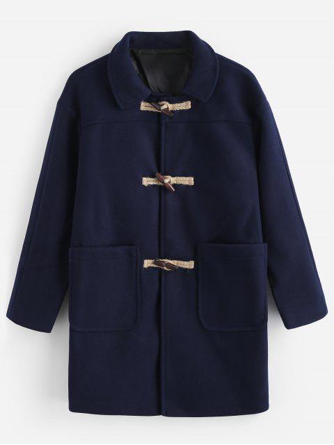 Manteau Classique Bouclé - Cadetblue XL Mobile