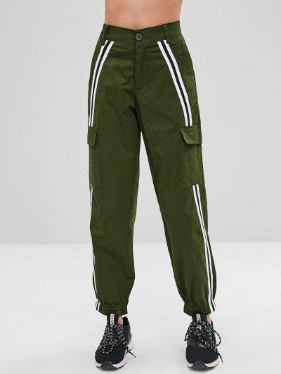 Stripe Patch Pants