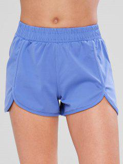 Tulip Workout Shorts - Blue S