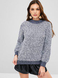 Thick Heathered Sweater - Multi