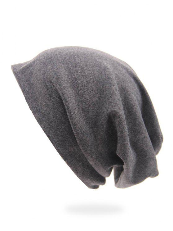 2019 Solid Color Casual Slouchy Beanie In GRAY  9db93c44e8b