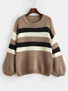 Cotton Striped Sweater - Multi
