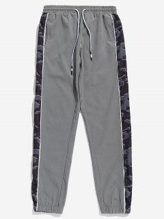 Pantalones Basculador De Camuflaje - Gris Claro 3xl