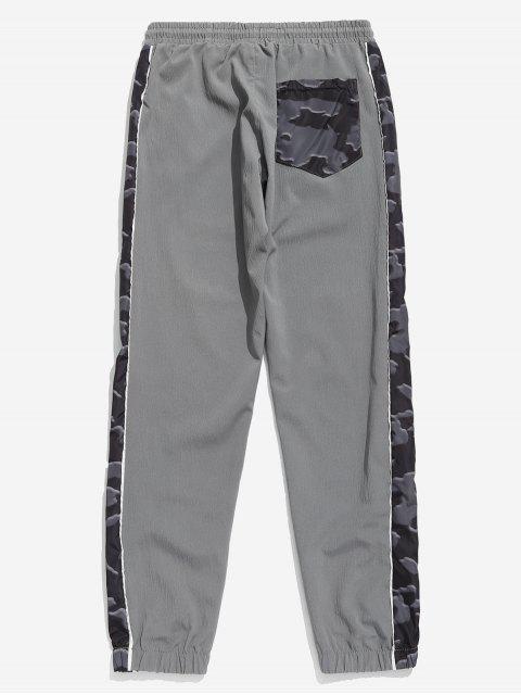 Pantalon de Jogging Panneau Camouflage - Gris Clair 3XL Mobile
