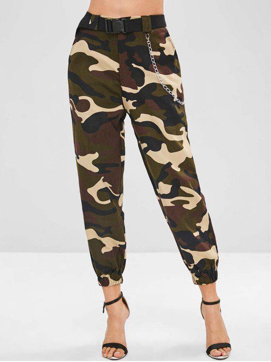 Pantaloni Di Camo Con Catena - ACU Camouflage M