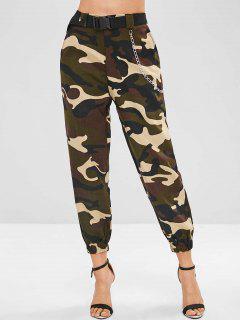 Chain Camo Pants - Acu Camouflage L