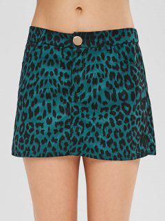 ZAFUL Low Waist Leopard Mini Skirt - Leopard Xl