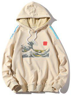 Spoondrift Graphic Hoodie - Apricot L