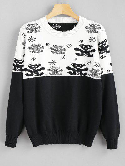 Snowflake Sweater Fashion Shop Trendy Style Online Zaful