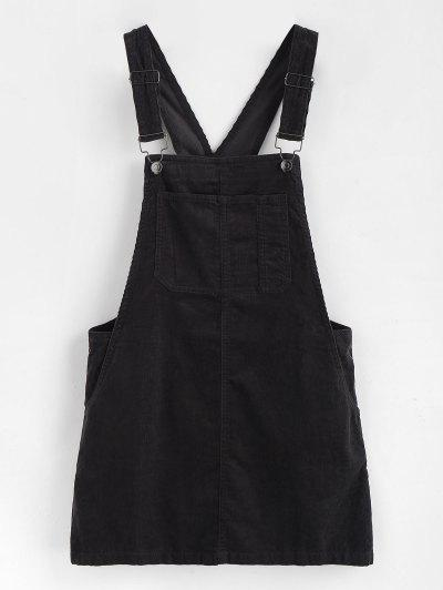 Mini Pinafore Dress - Black M ... b2021762dc4a