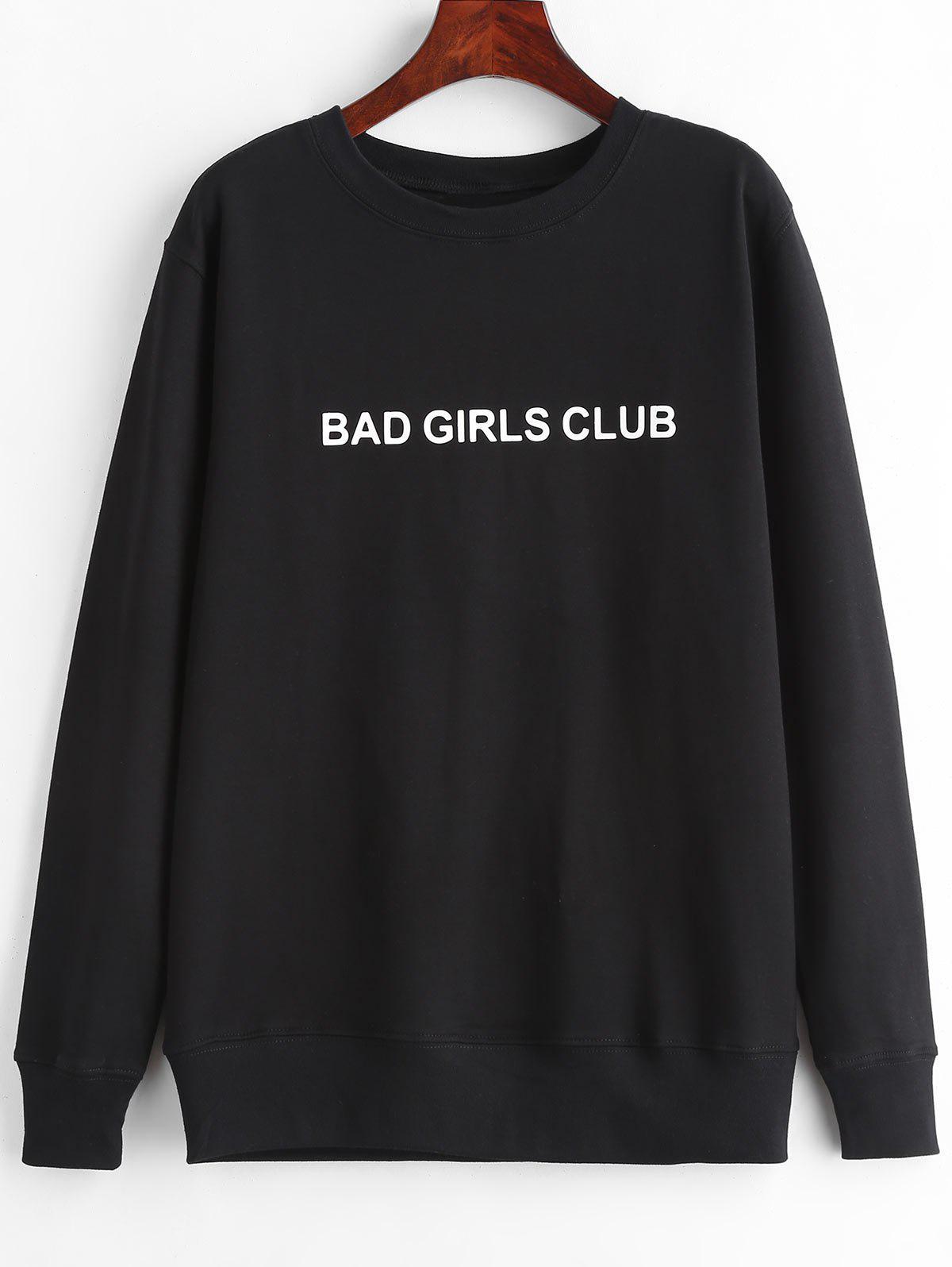 BAD GIRLS CLUB Graphiques Pull Sweat-shirt