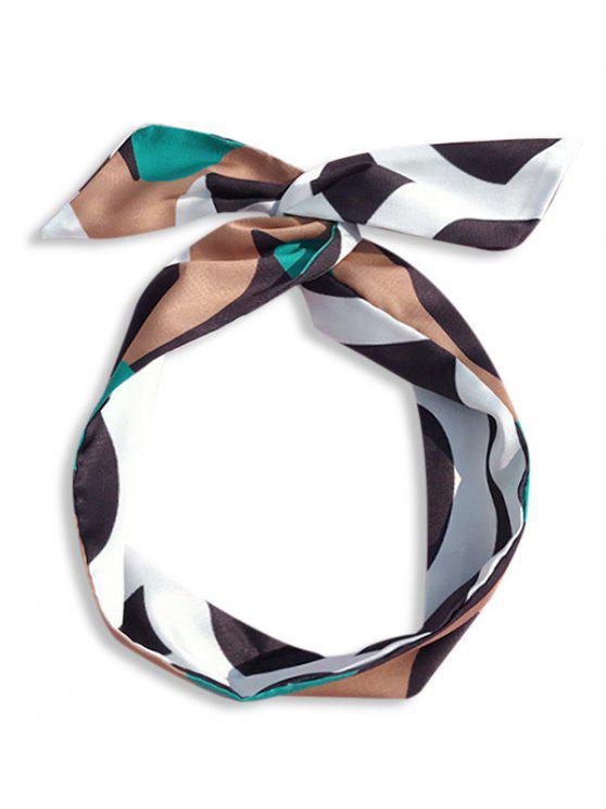 women's Polka Dot Silky Hairband - CINNAMON