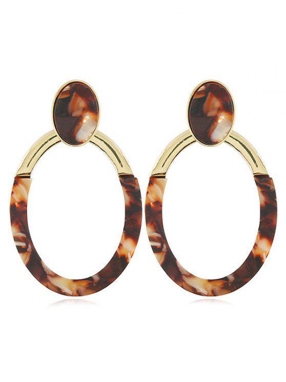 new Geometric Design Hollow Earrings - GOLD