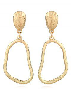 Alloy Minimalism Design Drop Earrings - Gold