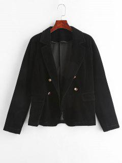 Single Button Blazer - Black M