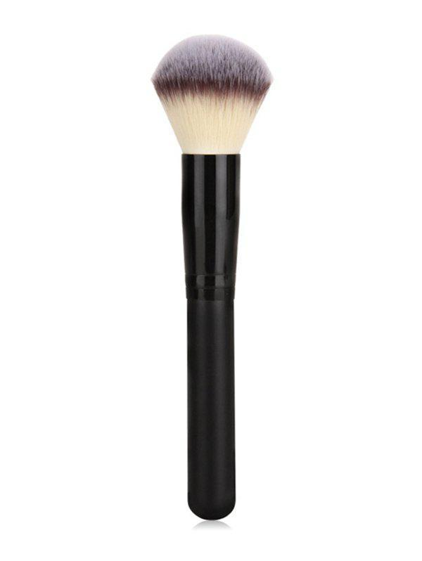 3 Pcs Black Handles Fiber Hair Powder Brush Set