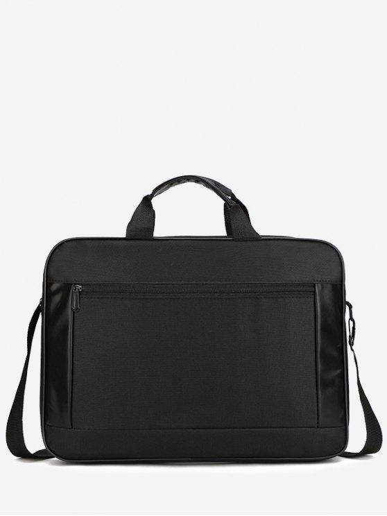 women's Waterproof Oxford Fabric Laptop Bag - BLACK