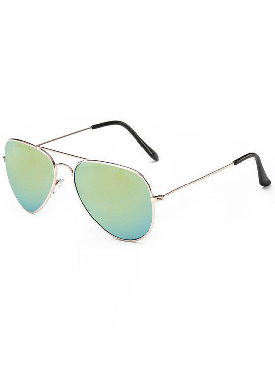 sale Retro Crossbar Pilot Sunglasses - CHAMPAGNE GOLD