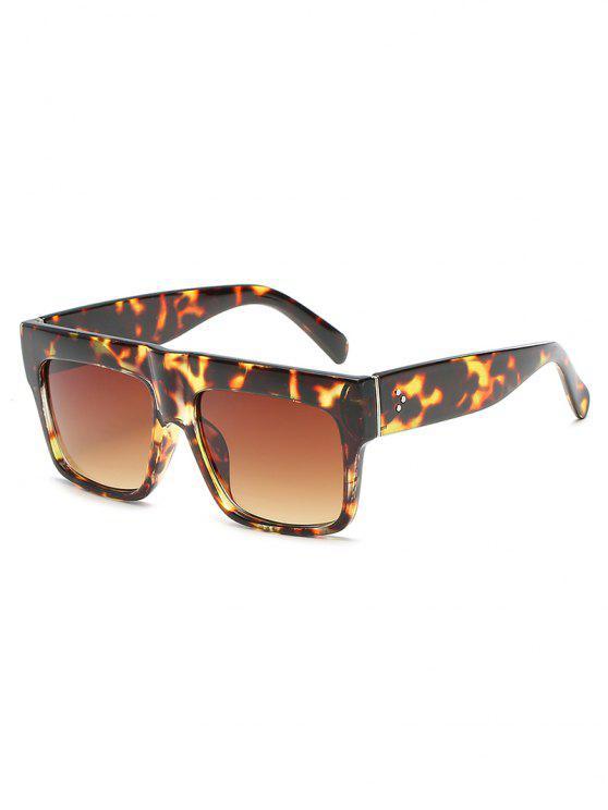 womens Anti Fatigue Flat Lens Driving Sunglasses - LEOPARD