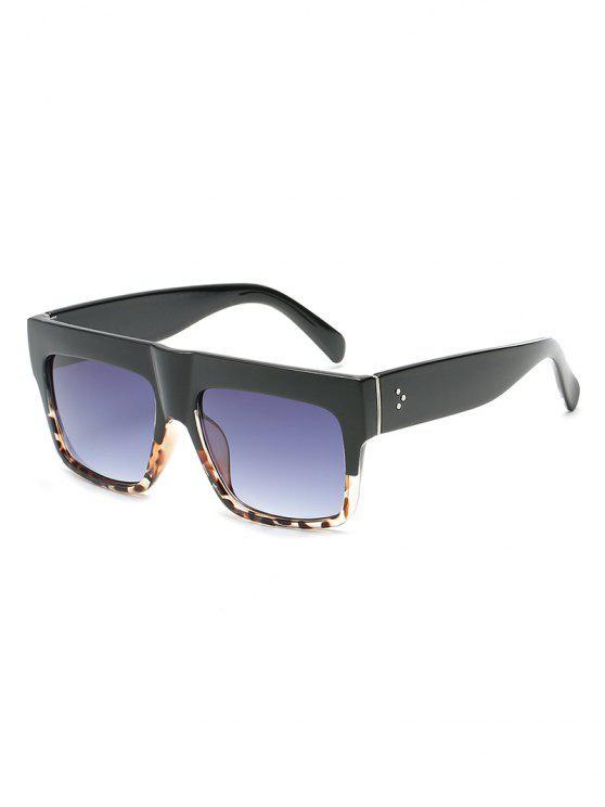 latest Anti Fatigue Flat Lens Driving Sunglasses - BATTLESHIP GRAY