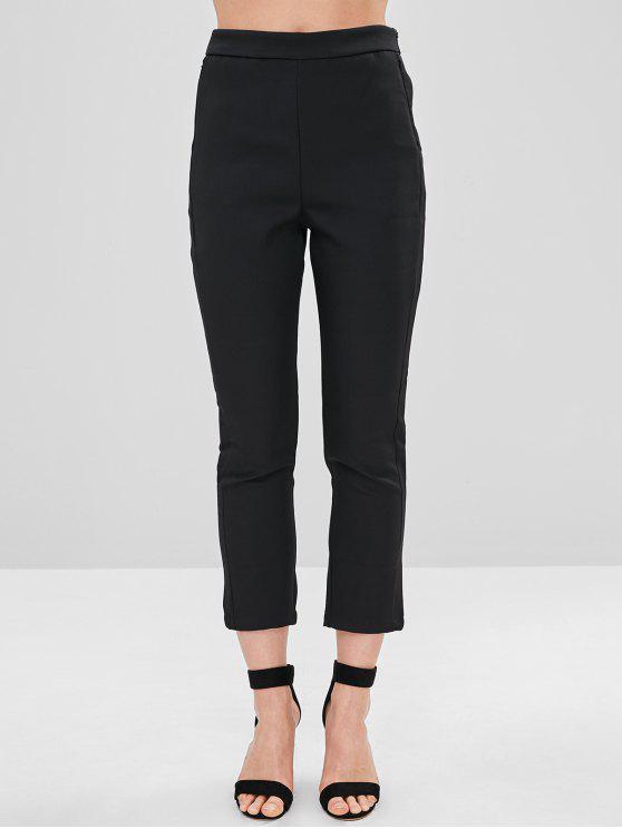 Pantalon à la cheville - Noir M