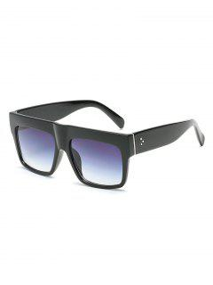 Anti Fatigue Flat Lens Driving Sunglasses - Black