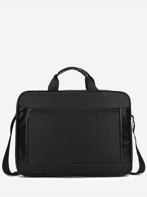 women's Waterproof Oxford Fabric Laptop Bag - BLACK  Mobile
